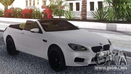 BMW M6 Cabrio White para GTA San Andreas