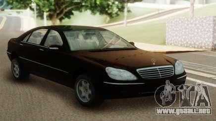 Mercedes-Benz S400 W220 para GTA San Andreas