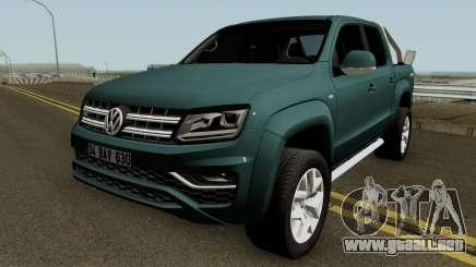 Volkswagen Amarok V6 Aventura 2018 para GTA San Andreas
