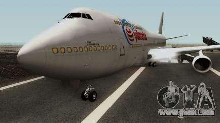 Boeing 747-300 para GTA San Andreas