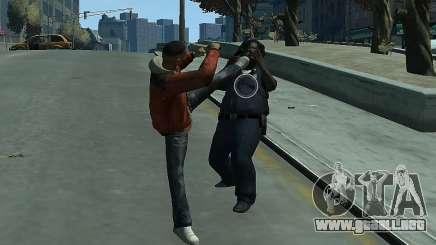 Lucha cuerpo a cuerpo Mod II para GTA 4