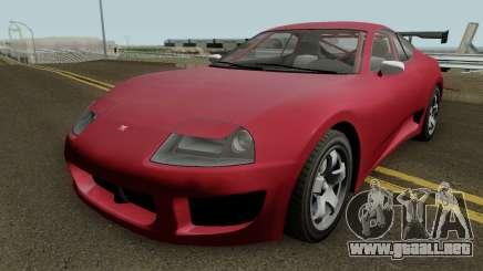 Dinka Jester Classic GTA V IVF para GTA San Andreas