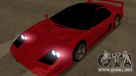 Turismo Top LQ para GTA San Andreas