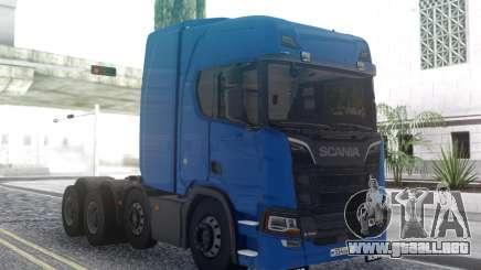 Scania S6000 para GTA San Andreas