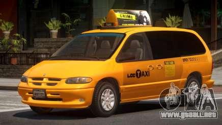 1996 Dodge Grand Caravan LC Taxi para GTA 4
