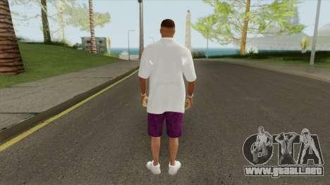 New Ballas Skin V1 (HD) para GTA San Andreas