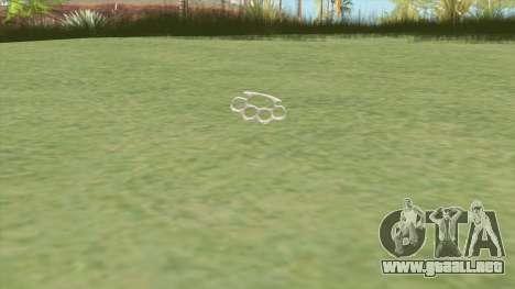 Brass Knuckles (HD) para GTA San Andreas