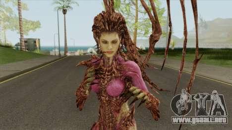 Infested Kerrigan (StarCraft 2) para GTA San Andreas