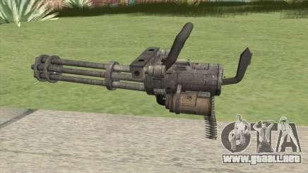 Minigun (HD) para GTA San Andreas