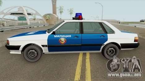 Audi 80 (Police) 1988 para GTA San Andreas