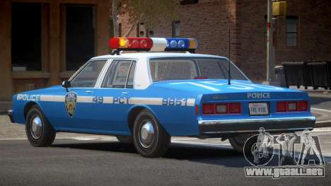 Chevrolet Impala NYC Police 1984 para GTA 4