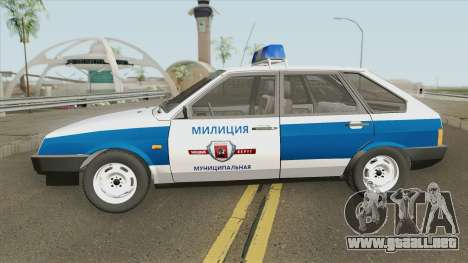 2109 (Policía Municipal) para GTA San Andreas
