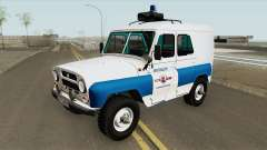 UAZ 3151 (Policía Municipal) para GTA San Andreas