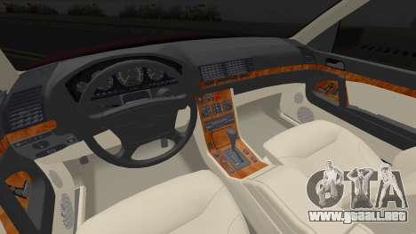 Mercedes-Benz S600 w140 Brabus para GTA San Andreas