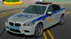 BMW M5 F10 SB de la policía de tráfico