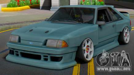 Ford Foxbody Wickedz Edition para GTA San Andreas