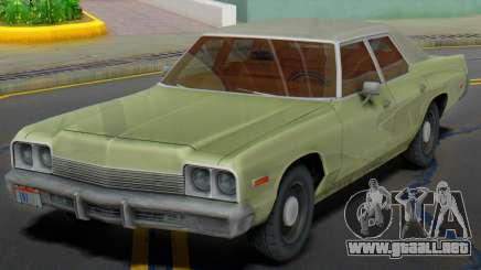 Dodge Monaco 1974 (Civil) para GTA San Andreas