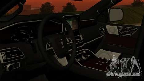 Lincoln Navigator 2020 para GTA San Andreas