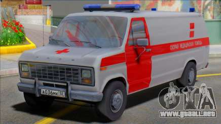 Ford 150 Ambulance Medical Aid para GTA San Andreas