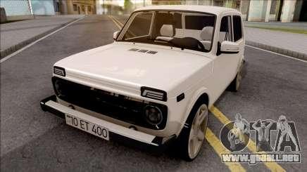 VAZ Niva Azerbaiyán Shaki para GTA San Andreas