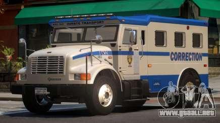 Navistar Intenational 4700 Prison Van para GTA 4