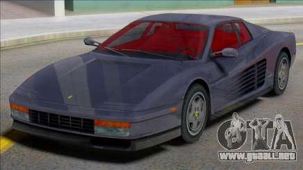 Ferrari Testarossa 1984 (IVF) para GTA San Andreas