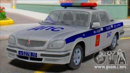 Gaz Volga 31105 Policía DPS 2006 para GTA San Andreas