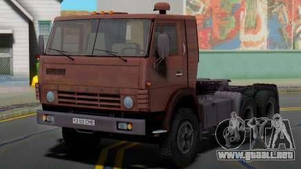 KAMAZ 5410 camión tractor para GTA San Andreas