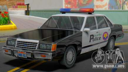 Ford LTD LX 1985 (VCPD) para GTA San Andreas
