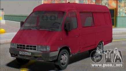 Gazelle 2705 Van 6 asientos para GTA San Andreas