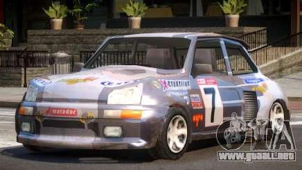 Rally Car from Trackmania PJ2 para GTA 4