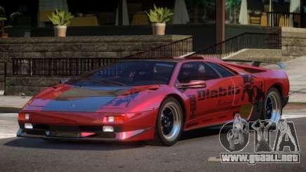 Lamborghini Diablo BS para GTA 4