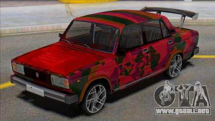 Vaz 2105 Tuning Spoiler para GTA San Andreas