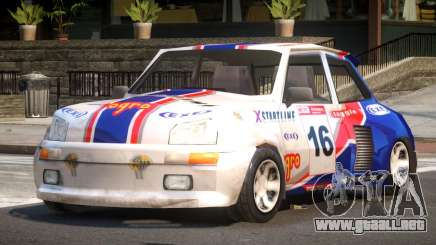 Rally Car from Trackmania PJ3 para GTA 4