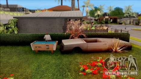 Modern Grove Street 2 para GTA San Andreas