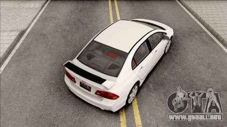 Honda Civic FD2 Type R para GTA San Andreas
