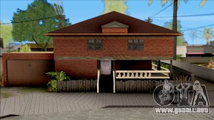 New Groove Street SafeHouse para GTA San Andreas