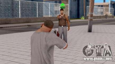 Enemy Health Indicator para GTA San Andreas