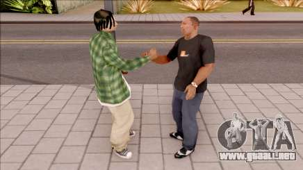 Handshake Mod para GTA San Andreas