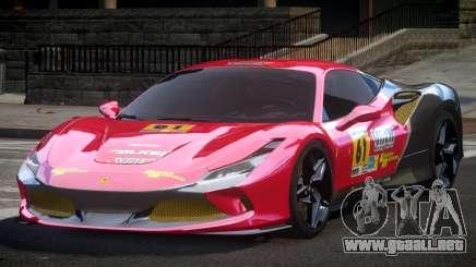 Ferrari F8 Tributo BS L4 para GTA 4