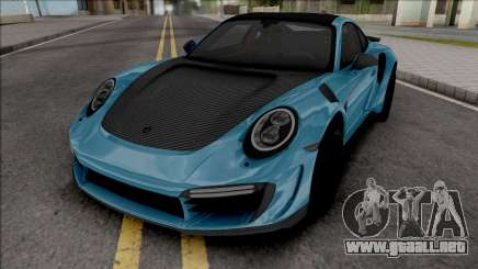 Porsche 911 Stinger TopCar para GTA San Andreas