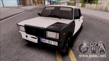 Vaz 2107 Estilo Georgi para GTA San Andreas