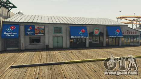 GTA 5 Dominos Pizza