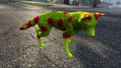 The Legit Radioactive Coyote para GTA 5