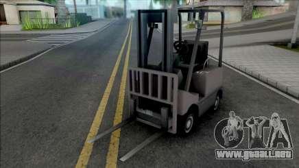 Forklift from ETS 2 para GTA San Andreas