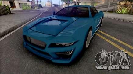 BlueRay WRX Infernus para GTA San Andreas