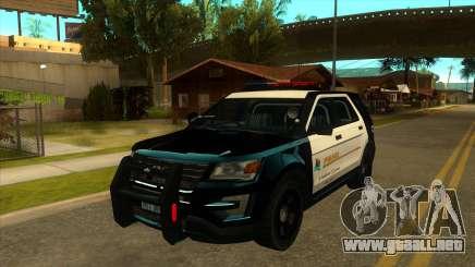 MGRP Police Rancher V1 para GTA San Andreas