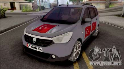 Dacia Lodgy Turkish para GTA San Andreas