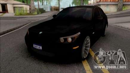 BMW M5 Tárkiiye para GTA San Andreas