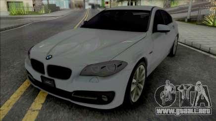 BMW 5-er F10 2015 para GTA San Andreas